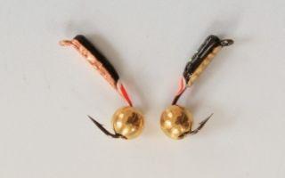Мормышка гвоздешарик: как сделать своими руками, тактика ловли