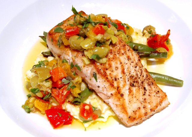 Гарнир к рыбе (жареной, запеченной, копченой): вкусные рецепты