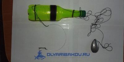 Как ловить на бутылку рыбу: щуку, судака, налима