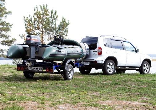 Прицепы для перевозки лодки ПВХ, как выбрать лодку