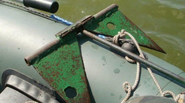 Как сделать якорь для лодки ПВХ своими руками, чертежи и схемы изготовления