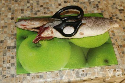 Как правильно снять шкуру с щуки чулком, подготовка и процесс