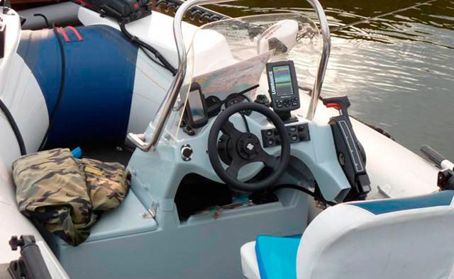 Рулевая консоль для лодки ПВХ, лучшие модели, изготовление своими руками