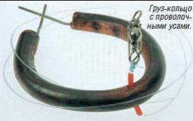 На кольцо - как ловить рыбу, удилище и оснастка, техника ловли
