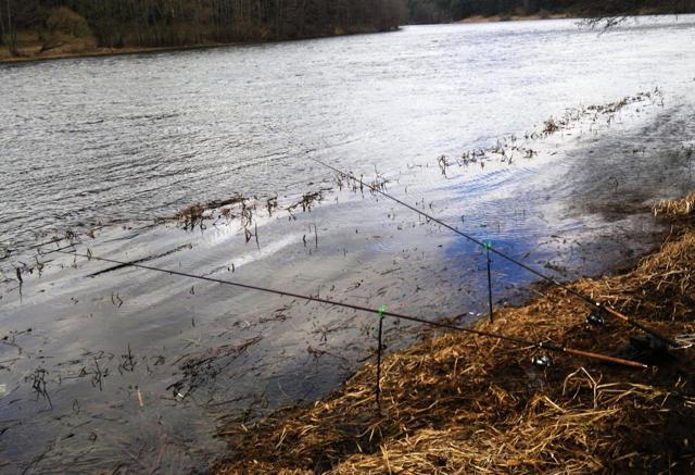 Ловля на фидер зимой на реке и водоеме с открытой водой
