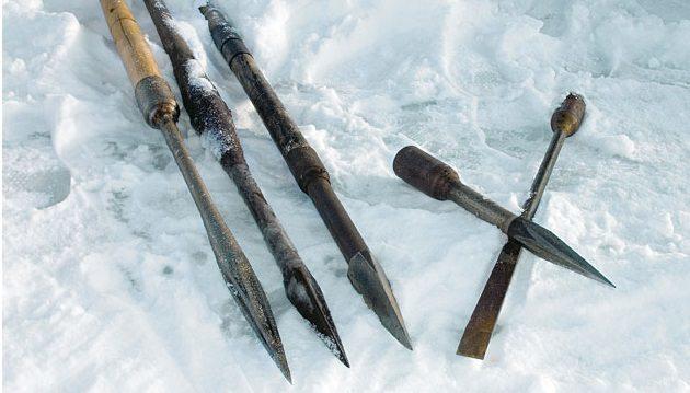 Пешня для зимней рыбалки: виды, изготовление своими руками