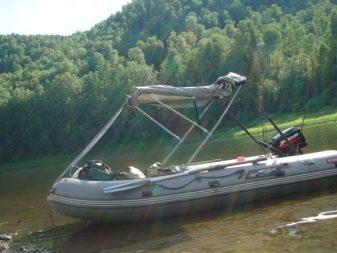 Как сделать тент на лодку ПВХ своими руками, самодельный тент: ходовой, носовой, трансформер