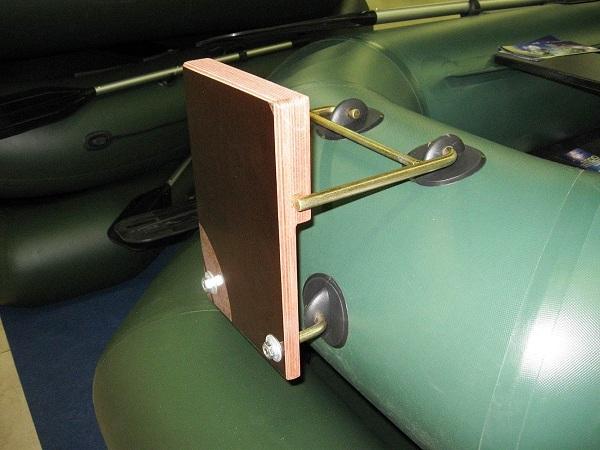 Транец навесной для лодки ПВХ своими руками, фото и видео примеры