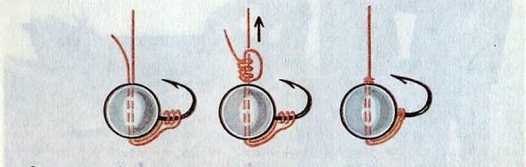 Как привязать мормышку с ушком: лучшие способы, схемы и инструкции