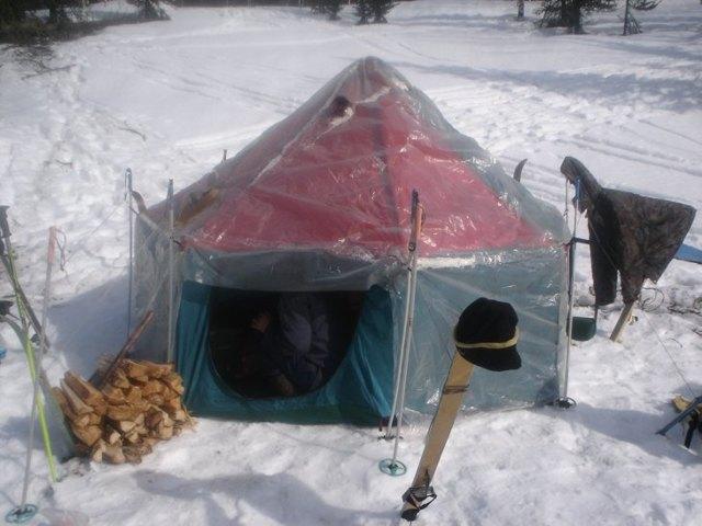 Зимняя палатка для рыбалки своими руками: чертежи, фото и видео примеры