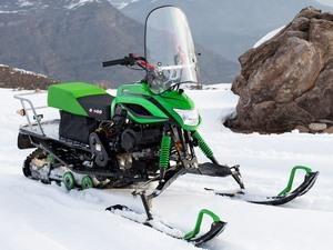 Мини снегоходы для зимней рыбалки, полярные модели и бренды