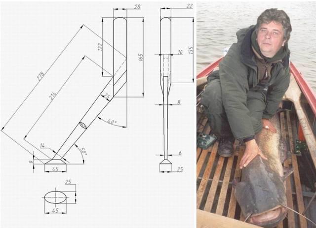Ловля сома на квок с лодки, как сделать квок своими руками