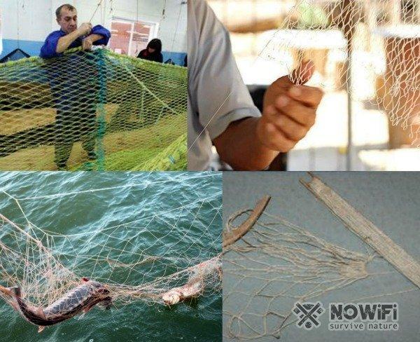 Как плести сеть для рыбалки из лески, своими руками