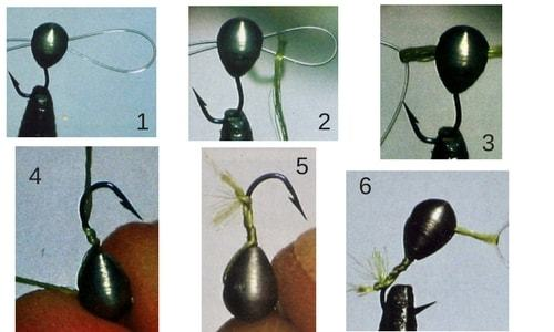 Как привязать мормышку, используя различные узлы (фото и видео)