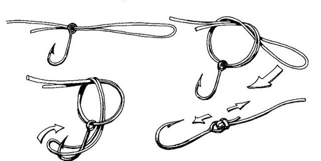 Как привязать к леске карабин, застежку и приманки (фото, видео)