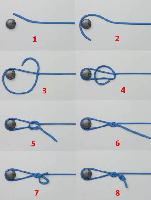 Как правильно привязать леску к катушке (шпуле) фото и видео примеры