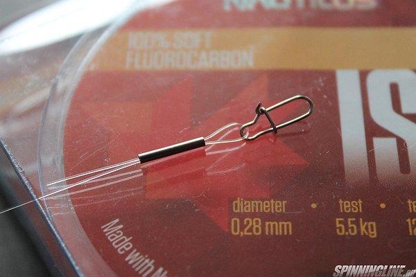 Флюрокарбоновый поводок для ловли щуки, изготовление своими руками
