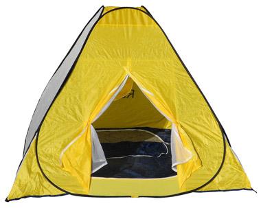 Палатки для зимней рыбалки, виды и модели палаток, советы по установке