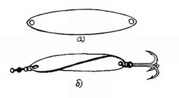 Блесна Ульянка своими руками: инструкция с чертежами и советами