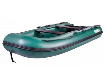 Лодка ПВХ с надувным дном под мотор