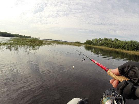 Погода хорошая для рыбалки