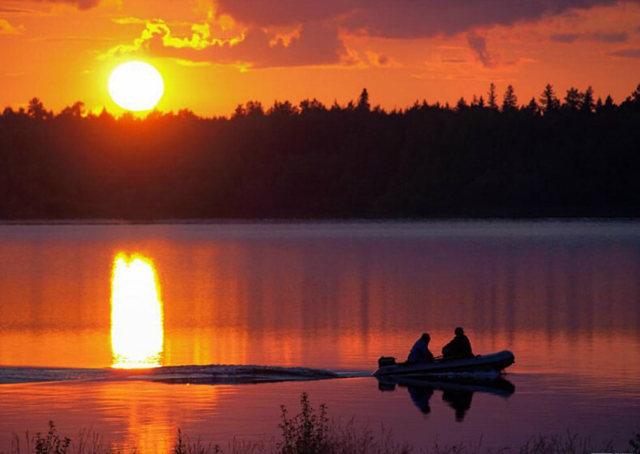 Выбор места рыбалки, как выбрать место для рыбалки