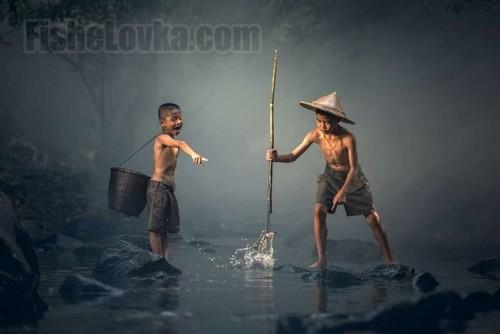 Рыбалка без удочки: как ловить рыбу, без рыболовных снастей