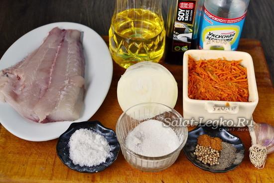 Хе из толстолобика по-корейски, маринованный толстолобик, вкусные рецепты
