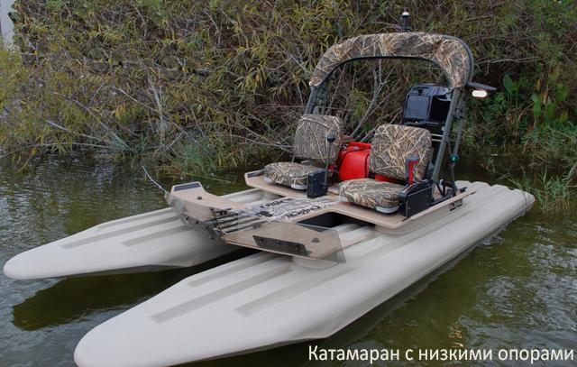 Катамараны для рыбалки под мотор: рейтинг лучших моделей, виды