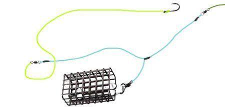 Как привязать кормушку к основной леске фидера (фото и видео)