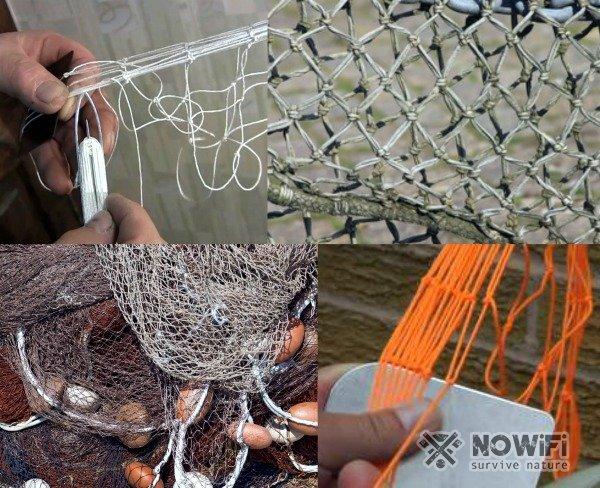 Кастинговая сеть своими руками, схема как плести сеть, фото и видео