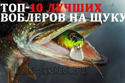 Кренки на щуку: топ 10 уловистых воблеров, рыболовные хитрости