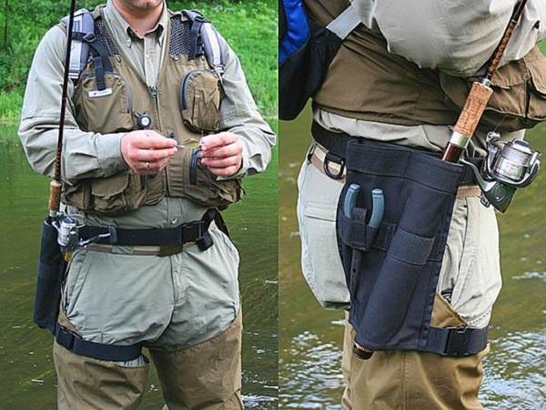 Снаряжение спиннингиста, разгрузочный жилет для рыбалки