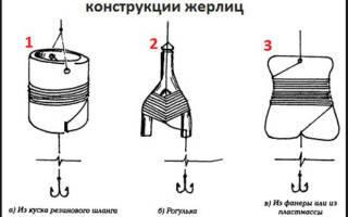 Ловля щуки на рогатку (жерлицу), как сделать рогатку