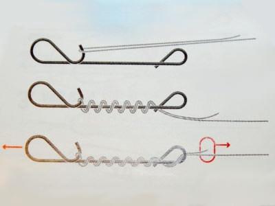 Безузловая застежка для плетенки, делаем своими руками, привязываем