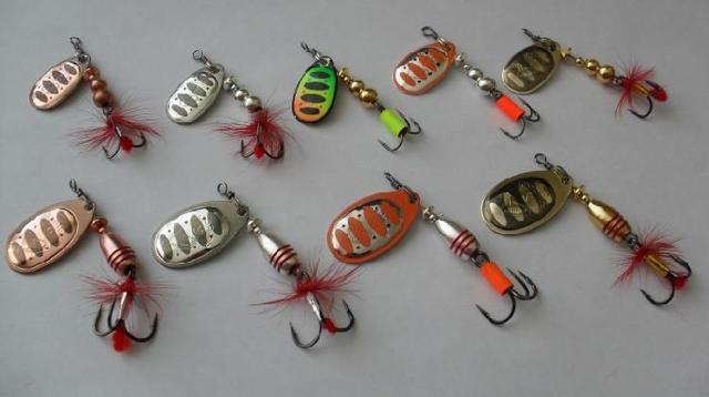Ловля щуки на блесны-вертушки: лучшие модели, техника проводки
